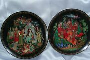 The Golden Cockerel And Russian 7 Ludmilla Collector Plates