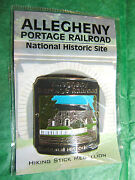 Allegheny Portage Railroad Hiking Medallion Pennsylvania Travel Souvenir H90
