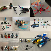 Lego Legends Of Chima 7 Sets 70000 70101 70220 70221 30252 70106 70013 + Minfigs