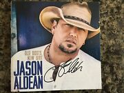 Jason Aldean Old Boots, New Dirt By Cd Comes W/ Signed Cd Booklet Autographed