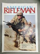 The American Rifleman Magazine April 1991 Small Arms In The Gulf
