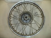 And03969 68 67 Sears Allstate Gilera 106 Ss Front Wheel Hub Spokes For Parts / Repair
