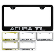 Name Stainless Steel Wide Bottom License Plate Frame For Acura Tl - Augdp1675