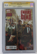 Cgc Graded 9.6 Empire Of The Dead Act One 3 Signed George Romero Stan Lee