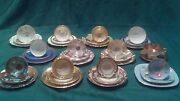 Vintage Bavaria Germany Antique China 3 Piece Place Settings..cup Saucer Plate