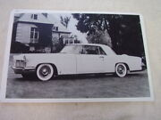 1956 Lincoln Continental Mark Ii Hardtop 11 X 17 Photo Picture