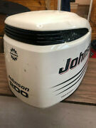 2004 Johnson 200 Hp 4 Stroke Outboard Hood Top Cowl Cover Hood Freshwater Mn