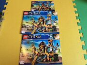 New Lego Instruction Manual Only Chima Lion Chi Temple 70010 All 3 Books