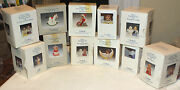 Lot Of 11 Vintage Goebel Angel Bell And Other Hummel Ornaments 1987-2000 In Boxes