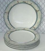 By The Sea David Carter Brown Setf 4 Dinner Plates Stoneware Lighthouse Platter