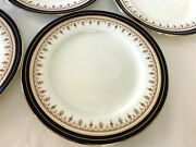 Aynsley Leighton Cobalt 1646 Eleven Bread And Butter Plate 6 1/2