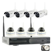 Indoor Outdoor 1080p Surveillance Camera Cctv Home Security System High Quality