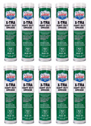 10 Pack Of Lucas Oil 10301 Xtra Heavy Duty Grease 14oz Tubes