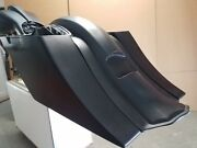 Dntd Stretched Saddle Bags And Rear Fender Long Tail For Harley Touring Baggers