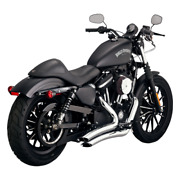Vance And Hines Big Radius Exhaust For 2014-19 Harley Sportster - Chrome - 26067