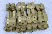 Eagle Industries Khaki Sflcs 40mm Grenade Double Pouch - Lot Of 50 - Usa Made