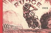 1935 Rudge Motor Cycle Catalogue Antique Reproduction