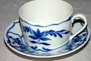 And Co. Mandalay Gda Limoges France Tea Cup And Saucer