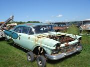 🔥 1957 Ford Fairlane 4dr Sedan Parting Out-this Auction Is For 1 Lug Nut Ford🔥