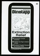 2013 Topps Wacky Packages Series 11 Pencil Drawing Card 22 Dinotapp