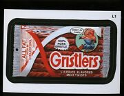 2013 Topps Wacky Packages Series 11 Lost Wacky L1 Gristlers