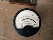 Air Ministry Ww2 Moving Coil 3.5 Amps Meter Sangamo Weston