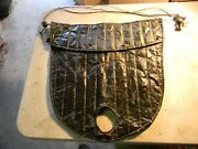 Vintage 1930s Ford Essex Winter Leather Radiator Grill Cover Accessory 31 32 33