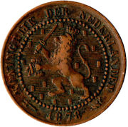 Coin / The Netherlands / 1 Cent 1878 Wt1940