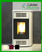 Pellet Stove Ducted Anselmo Cola Model Beauty 13 12wifi .7 Kw