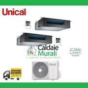 Climate Control Air Conditioner Unical Dual Canalizzabile 12000+12000+cmx2 18he