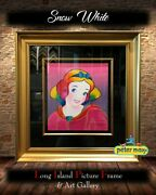 Peter Max Signed Serigraph Snow White Disney Suite Custom Framed Free Shipping 1