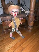 Vintage Marionette / String Puppet - Mexican - Male Figure