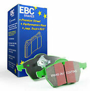 Ebc Green Stuff Front Brake Pads For 16-17 Ford Focus Rs - Dp22274