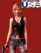 1/6 Leather Vest For Parasite Eve Aya Brea For 12 Phicen Tbl Hottoys Figure Usa