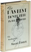 Marshall W Major Taylor / Fastest Bicycle Rider In The World The Story 1st 1928