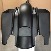 Harley Davidson 6 Replacement Stretched Rear Fender And Saddlebags Touring Flh