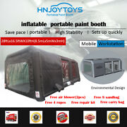 Inflatable Spray Booth Portable Tent Car Paint Booth Inflatable Car Mobile Spray