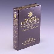 Signed Limited Edition President John F Kennedy Assassination By Gerald R. Ford