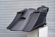 2009-2013 Harley Stretched Saddle Bags And Overlay Fender For Touring Flh 6