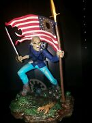 Iron Maiden The Trooper Usa 666 Sculpture Legacy Of The Beast Limited