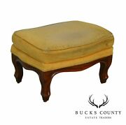 Ethan Allen Small Victorian Style Footstool