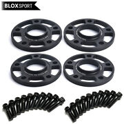 4 20mm Hubcentric Wheel Spacers 5x130 71.6 For Porsche Cayenne 911 Boxster 718