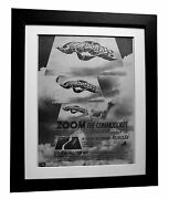 Commodores+lionel Richie+zoom+poster+ad+framed+original 1977+express Global Ship