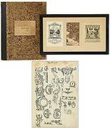 Hazel Curtiss / Archive Sketchbook And Bookplates 1920