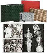 Thomas W Simons / Four Photo Albums Of Events In India Owned By Thomas W Simons