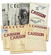 Bi-weekly Newspapers Incomplete Run Of Caisson 29 Issues / 1956
