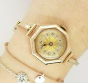 Antique 1920s Gold Windup Watch Dunklings Melbourne Swiss Made 9ct Gold Preloved