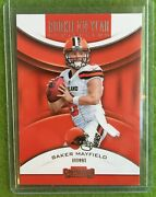 Baker Mayfield Rookie Card Rc Contenders Cleveland Browns Sp 2018 Panini Rya-bm