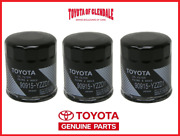 Genuine Toyota Lexus Oil Filter Set Of 3 Oem Fast Shipping 90915-yzzd1