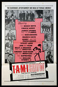 The T.a.m.i. Show Rolling Stones James Brown Rock N Roll 1964 1-sheet